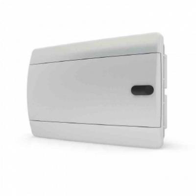 Щит встраиваемый Tekfor 12 модулей IP41, непрозрачная белая дверца серии С