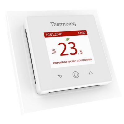 Терморегулятор теплого пола THERMO Thermoreg TI-970 White с сенсорным управлением