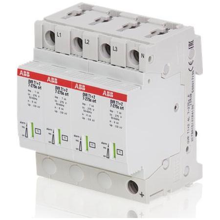 Ограничитель перенапряжения УЗИП ABB OVR T1-T2 4L 12.5-275s P QS