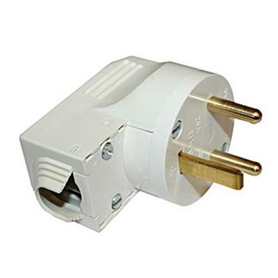 Вилка кабельная Legrand 2К+З 20А, для электроплит, слоновая кость