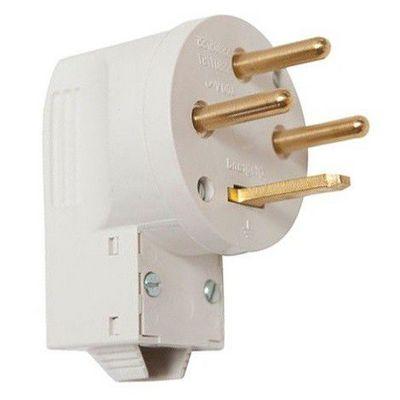 Вилка кабельная Legrand 3К+З 20А, для электроплит, слоновая кость
