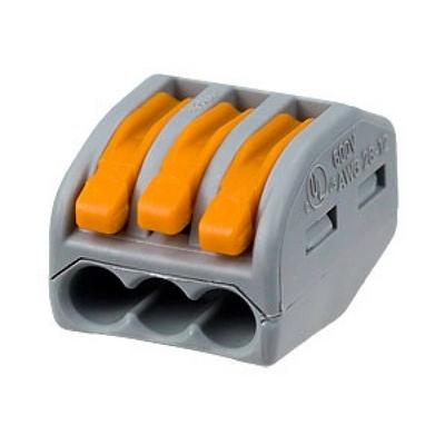 Клемма соединительная WAGO 222-413 для распределительных коробок